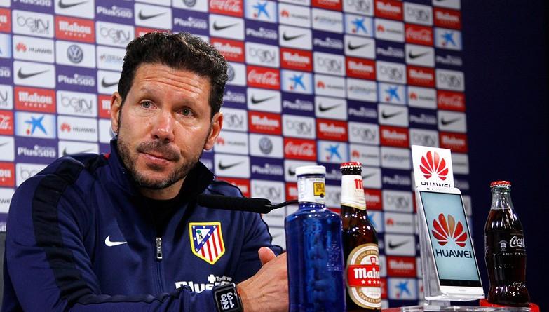 مدرب أتلتيكو مدريد الإسباني دييجو سيميوني