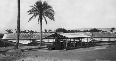 صورة للمحطة والموقع عام ١٩١٢