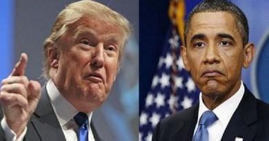 ترامب وأوباما
