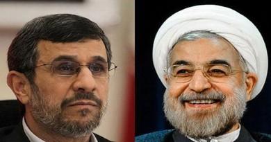 التلفزيون الإيراني يقطع بث خطاب لروحاني بسبب سخريته من نجاد