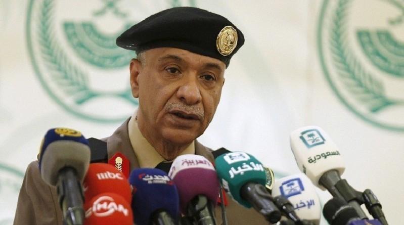 المتحدث الأمني باسم وزارة الداخلية