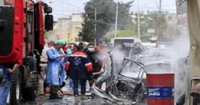 مقتل شخص وإصابة 11 آخرين في انفجار بلبنان