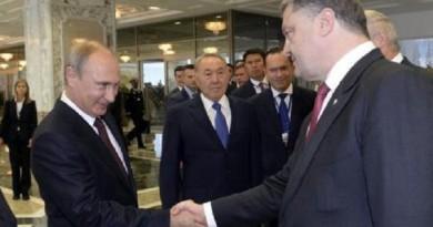 رئيس أوكرانيا يسعى لمحادثات مع بوتين وزعماء غربيين