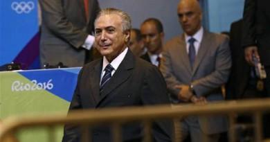 الرئيس البرازيلي الجديد ميشيل تامر