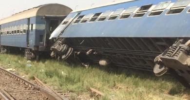"""سائق قطار العياط """"أنقذ الركاب من كارثة"""""""