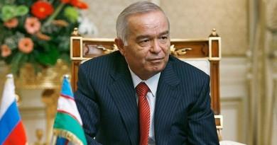 رئيس أوزبكستان إسلام كريموف