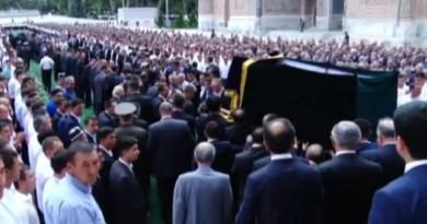 إسلام كريموف يوارى الثرى فى مسقط رأسه سمرقند (فيديو)