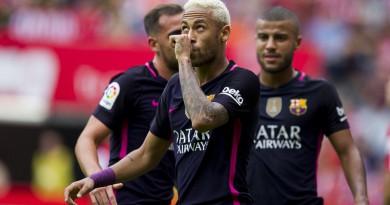 بالصور: برشلونة يلقن سبورتنج خيخون درسًا قاسيًا بخماسية بدون ميسي
