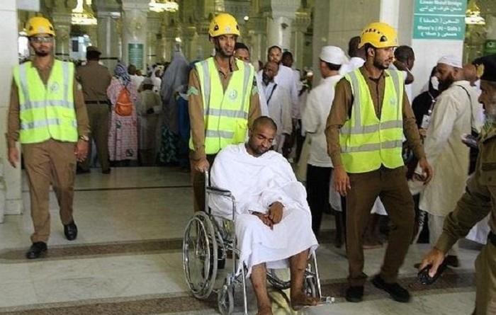 إسعاف 170 حاجًا بالمسجد الحرام في مكة