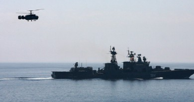 """اليوم انطلاق مناورات """"التعاون البحري-2016"""" الروسية الصينية"""