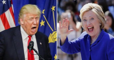 العالم يترقب أول مناظرة بين ترامب وكلينتون