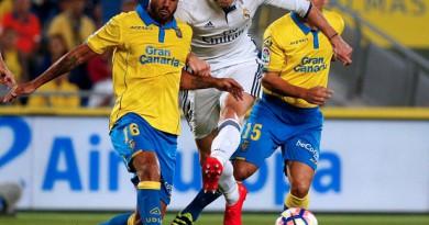 بالصور: لاس بالماس يخطف التعادل أمام ريال مدريد