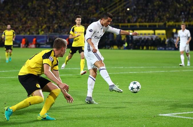 بروسيا دورتموند يتعادل مع ريال مدريد في مباراة مثيرة.. ويوفنتوس يسحق دينامو برباعية