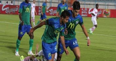 أحمد الشيخ يقود مصر المقاصة للفوز على إنبي