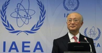 يوكيا أمانو مدير عام الوكالة الدولية للطاقة الذرية