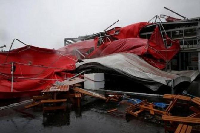 إصابة 32 في ثالث إعصار يجتاح تايوان