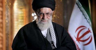 المرشد الأعلى للجمهورية في إيران علي خامنئي