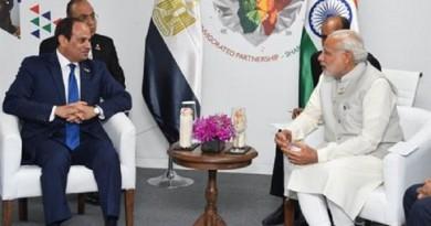 السيسي ورئيس وزراء الهند
