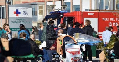 New strong earthquake hits Italy, buildings collapse