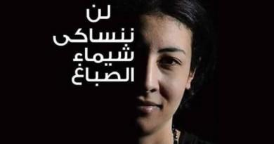 الجنايات تحكم على قاتل الناشطة شيماء الصباغ بالسجن المشدد