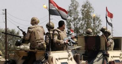 استشهاد 9 من قوات الأمن في هجوم بشمال سيناء