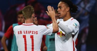 """لايبزج """"فريق العلبة"""" يكتب تاريخًا جديدًا في الدوري الألماني"""