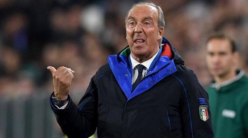 مدرب المنتخب الإيطالي لكرة القدم جيامبييرو فينتورا
