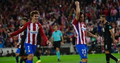 أتلتيكو مدريد يعاقب جرناطة على تقدمه بسباعية في الليجا