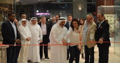 افتتاح المعرض التشكيلي (رؤى شرقية) للفنانين ناطق وشاكر الآلوسي في مؤسسة العويس الثقافية