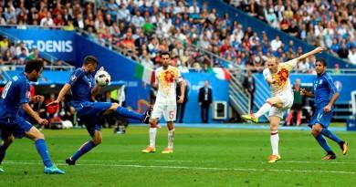 إيطاليا وإسبانيا في ربع نهائي يورو 2016