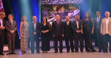 تكريم عدد من الفنانين في المهرجان القومي للسينما المصرية