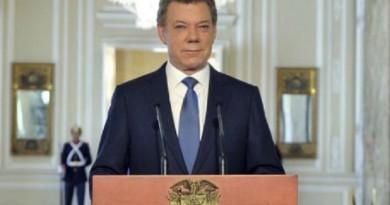 الرئيس الكولومبي مانويل سانتوس