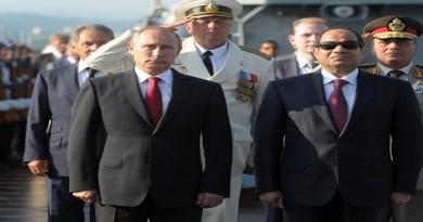 الرئاسة تنفي ما تردد حول محادثات مصرية روسية لاستئجار قاعدة عسكرية