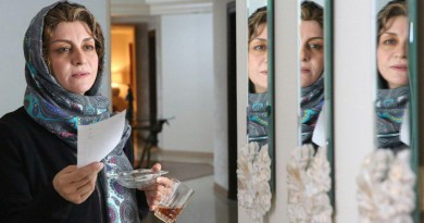 Film Under the Smoky Ceiling, the newest work of Pouran Derakhshandeh in Tehran continues