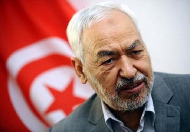 زعيم حركة النهضة التونسية التابعة للتنظيم الدولي للإخوان راشد الغنوشي