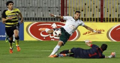 المصري يفوز على وادي دجلة