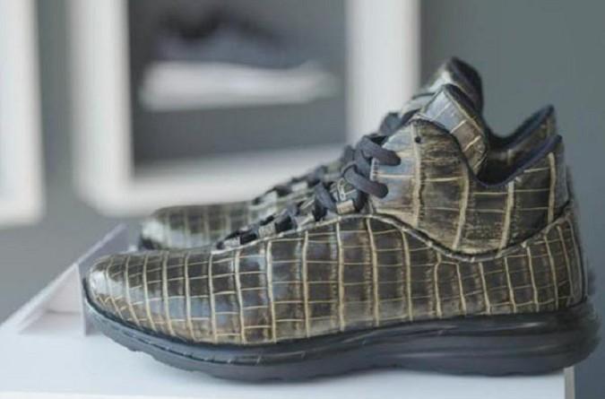 شاهد أغلى حذاء رياضي في العالم!