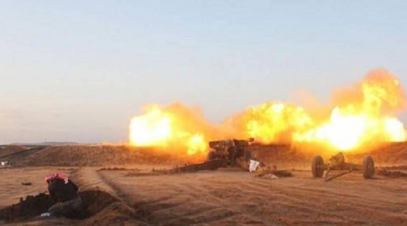 إصابة 30 جنديا سوريا في قصف كيميائي على مطار حلب الدولي