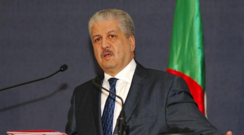 رئيس الوزراء الجزائري عبدالمالك سلال