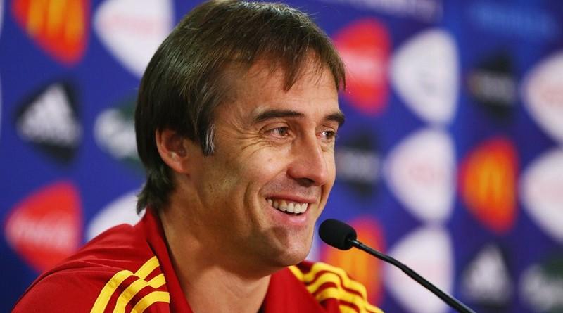مدرب منتخب إسبانيا الأول لكرة القدم جولين لوبيتيجي