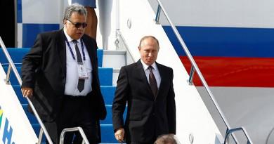 """بوتين يصل إلى ليما للمشاركة في قمة """"أبيك"""""""