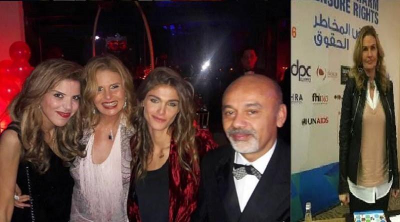 يسرا تشارك في حفل خيري لدعم التعليم بالصعيد وتكافح المخدرات من لبنان