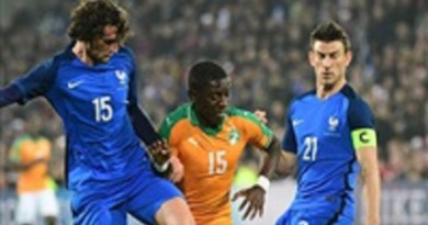 فرنسا تتعادل سلبيًا أمام كوت ديفوار وديًا