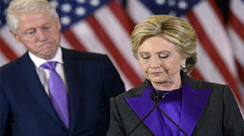 هيلاري كلينتون وبيل كلينتون