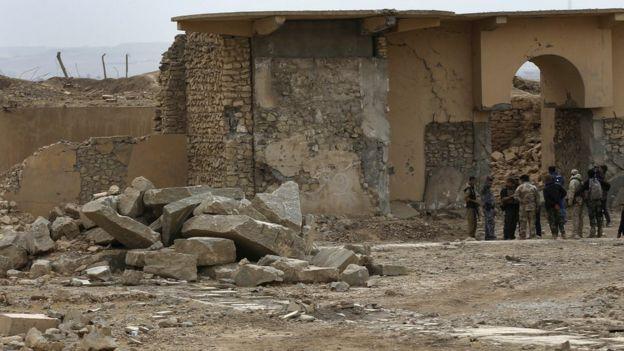 مدينة نمرود التاريخية من أهم المعالم الحضارية في العراق