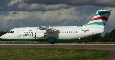 الأمطار توقف عمليات الإنقاذ بموقع تحطم طائرة الفريق البرازيلي