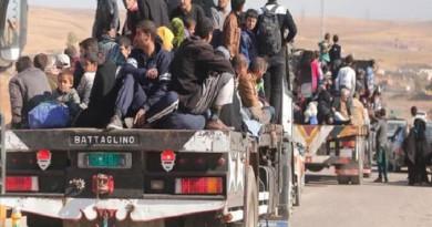 """""""اليونيسيف"""": نزوح 20 ألف من """"الموصل"""" منذ بدء معركة استعادة المدينة من """"داعش"""""""