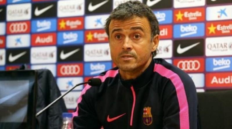 إنريكي يرفض الحديث حول مستقبله مع برشلونة