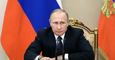 بوتين يعزي اُسر ضحايا الطائرة المنكوبة