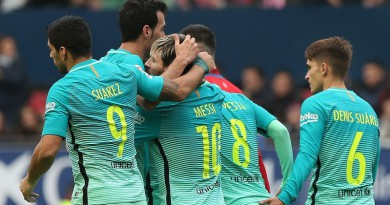 برشلونة يهزم أوساسونا بالليجا